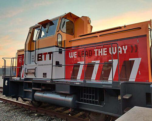 BTT GVT Locomotief 02