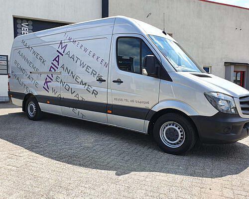 Dierckx Timmerwerken Mercedes Sprinter 4