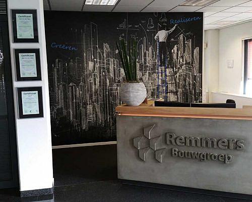 Remmers-bouw wandbeletteringA