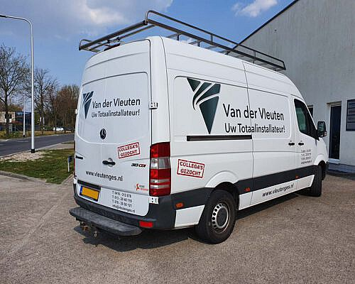 Van der Vleuten Mercedes Sprinter 1